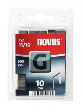 Tipo G 11/10 mm zincato 600 pezzi