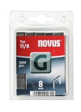 Tipo G 11/8 mm zincato 1200 pezzi