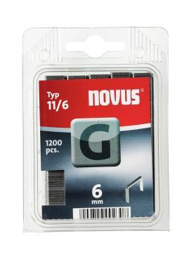 Tipo G 11/6 mm zincato 1200 pezzi