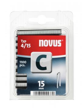 Tipo C 4/15 mm zincato 1100 pezzi