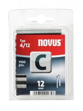 Tipo C 4/12 mm zincato 1100 pezzi