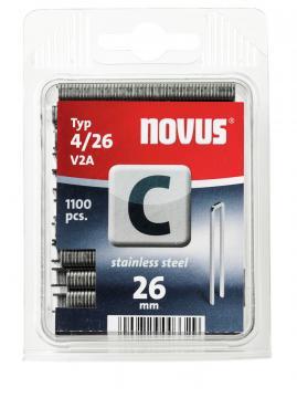 Tipo C 4/26 mm zincato 1100 pezzi