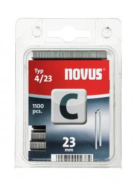 Tipo C 4/23 mm zincato 1100 pezzi