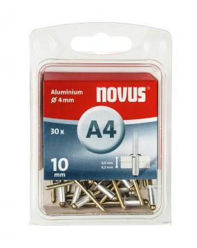 A 4 x 10 mm alluminio 30 pezzi