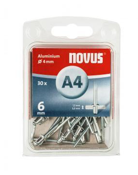 A 4 x 6 mm alluminio 30 pezzi