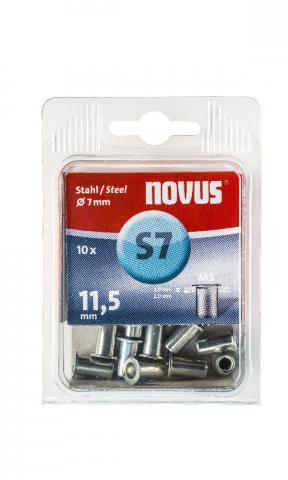 S7 5 x 11,5 mm M5 Acciaio 10 pezzi