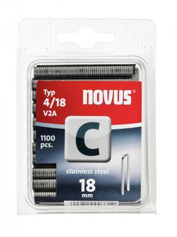 Tipo C 4/18 V2A mm zincato 1100 pezzi 1100 pz.