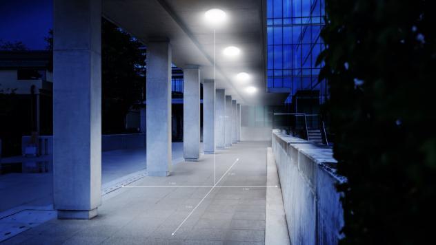 DL Vario Quattro PRO LED Bianco caldo antracite