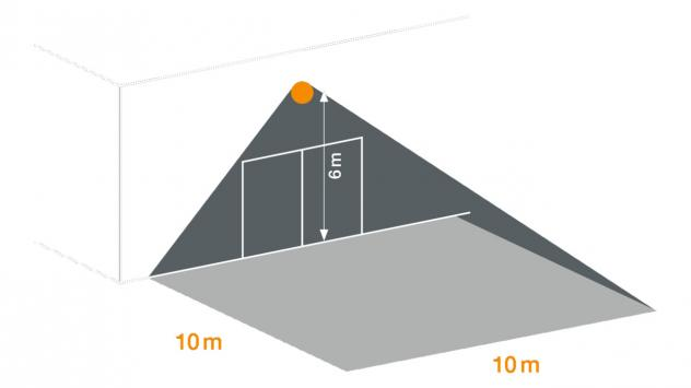 XLED PRO Square XL nero